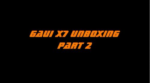 丹麥(Rasmus Hansen) X7 開箱影片 Part II