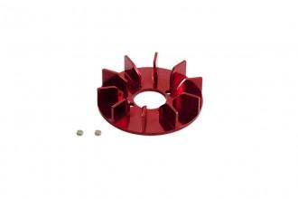313105-NX4 CNC 風扇(陽極亮紅)