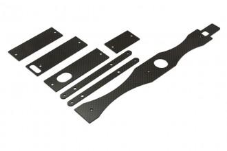 313503-NX4 碳纖陀螺儀座及強化板組(1.6mm)
