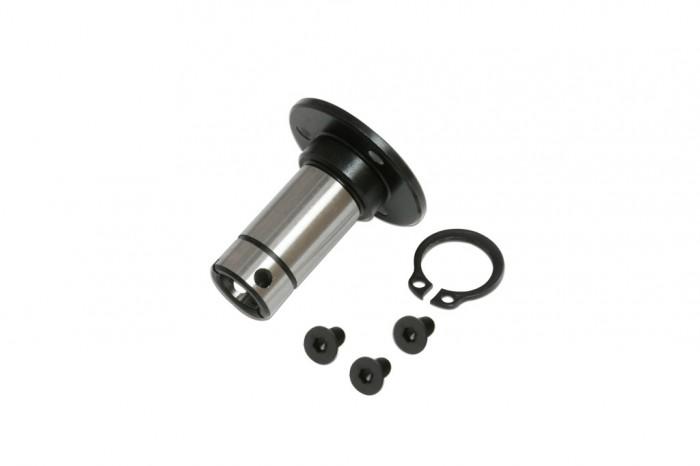 X5 單向鋼套及C型環(電鍍黑)