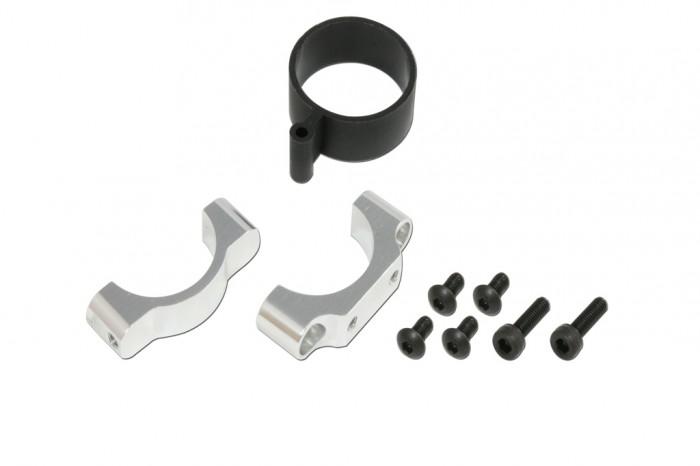 CNC 水平翼固定座(電鍍亮銀)