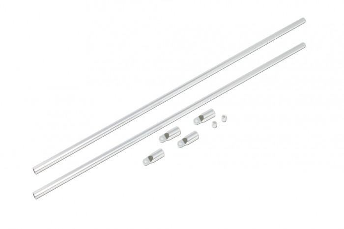 X5 CNC 尾管支撐桿組(亮銀)