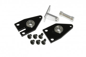 X5 CNC左右尾殼板(嵌合式)(電鍍黑)