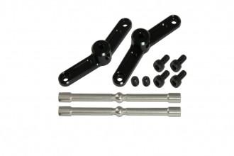 X5 CNC平衡翼控制組(電鍍黑)(12度)