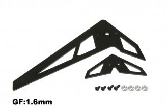 X5 黑玻纖尾翼組(1.6mm)
