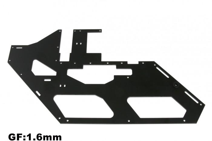 X5 黑玻纖機身側板(右)(1.6mm)