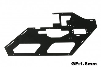 X5黑玻纖機身側板含附件(左)(1.6mm)