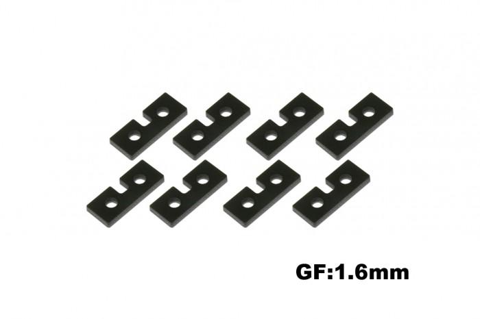 X5 黑纖伺服機固定片(1.6mm)