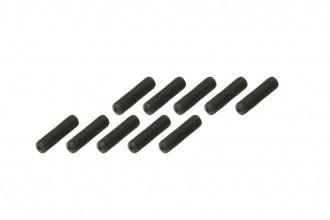 內六角止付螺絲包-黑色(M3x12)x10個