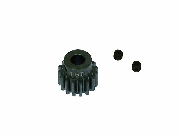 X5 鋼製馬達齒16T(孔徑5.0mm)
