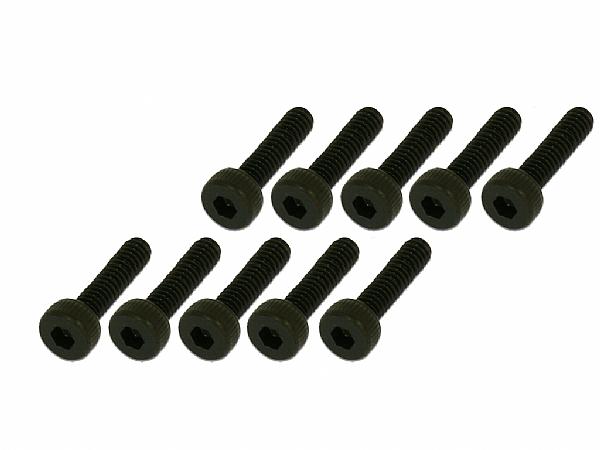 內六角螺絲包-黑色(M3x12)x10個