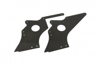 X7 碳纖後腳板組