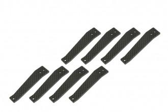 X5 碳纖腳架板
