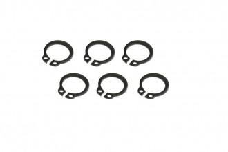 X5 C型環(電鍍黑)x6個