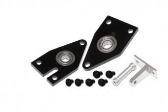 X5 CNC左右尾殼板(電鍍黑)