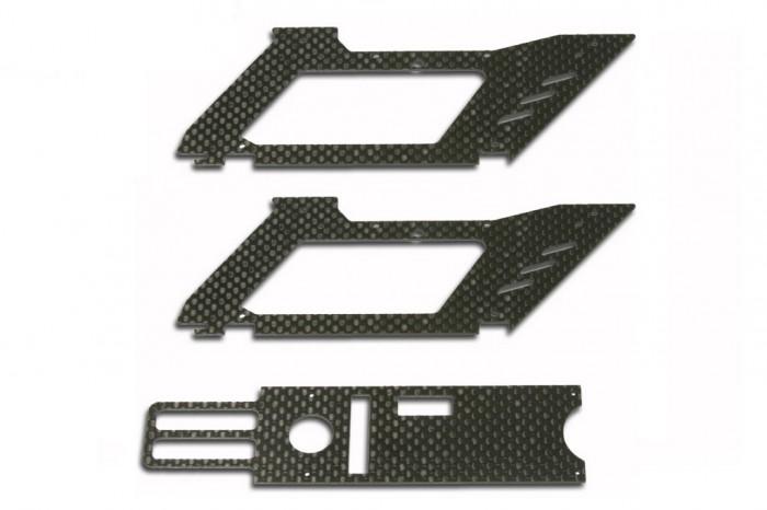 X2 碳纖下側板組