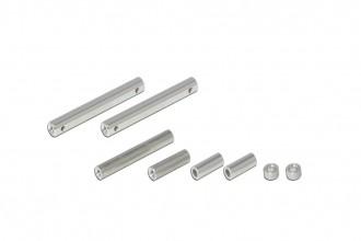 X2 碳纖側板鋁柱包