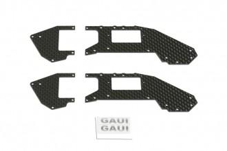 X 2 碳纖上側板組