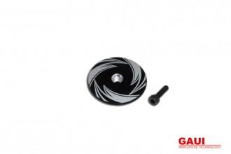 NX4 CNC煞車盤(電鍍黑)