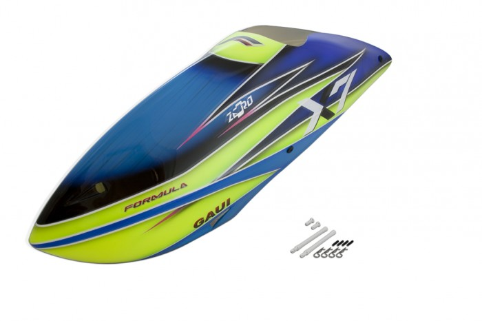 X7 FORMULA 艙罩(B1型 藍色)