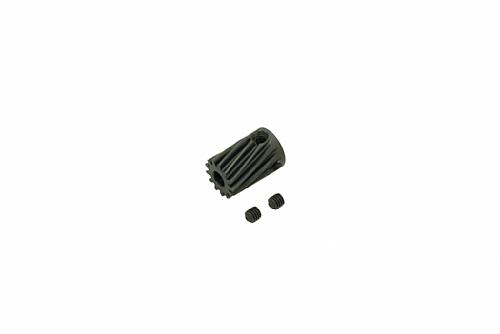 12T 鋼製馬達斜齒(內孔3.5mm)