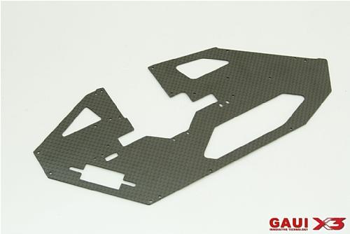 X3 碳纖右側板