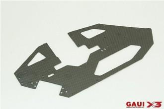 X3 碳纖左側板