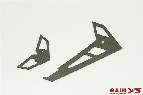 X3 碳纖尾翼組
