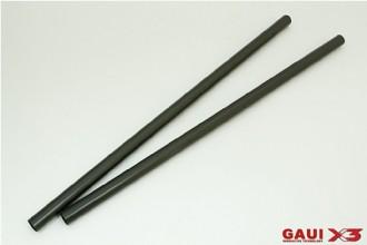 X3 尾管(陽極亮黑)x2個
