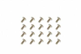 大扁頭細牙螺絲(M2x4)x20