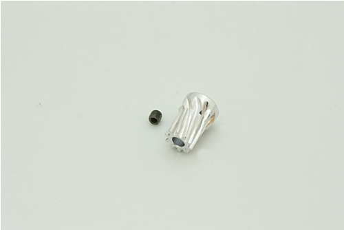 10T 鋁合金馬達斜齒(內孔3.17mm)
