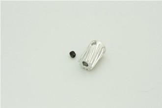 12T 鋁合金馬達斜齒(內孔3.17mm)