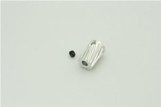 12T 鋁合金馬達斜齒(內孔3.5mm)