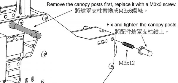 X5 FORMULA Canopy Illustration
