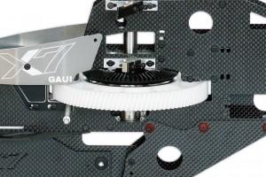 ♦因應3D飛行劇烈動作,配備高級強化單向主齒盤總成。