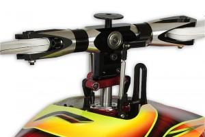 ♦搭配全新低重心FORMULA無平衡翼主旋翼頭,    極低370mm的機身高度,有效降低飛行風阻。