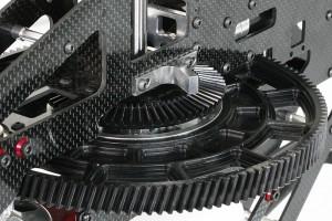 ♦NX7全機採用同X7等級M1.25齒輪模數,高強度大齒徑設計。