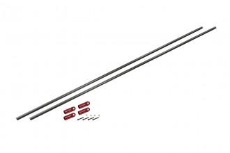 076207-碳纖支撐桿 (陽極亮紅)(適用 NX7)