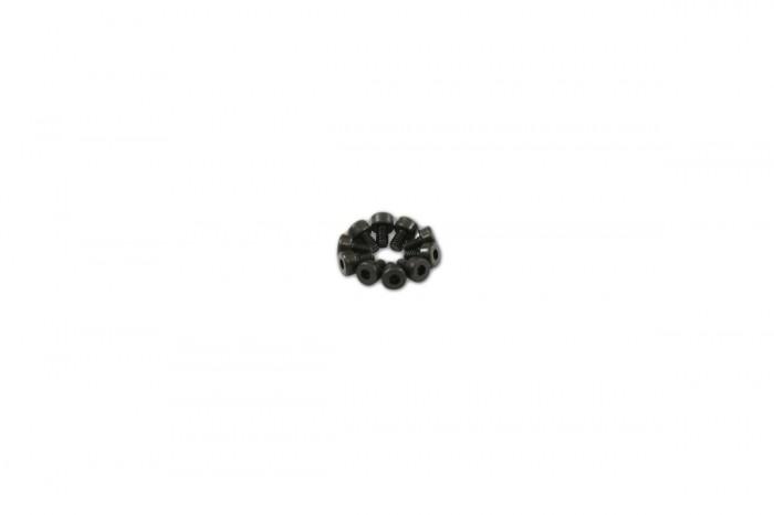 0R1203-內六角螺絲包-黑色(M2x3)x10個