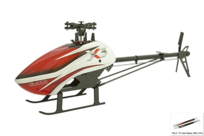 030121-X3 Kit (CNC尾旋翼夾頭組)