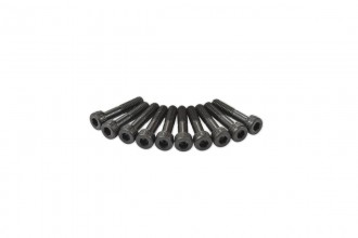 0R7213-半牙內六角螺絲包-黑色(M2.5x12)x10個