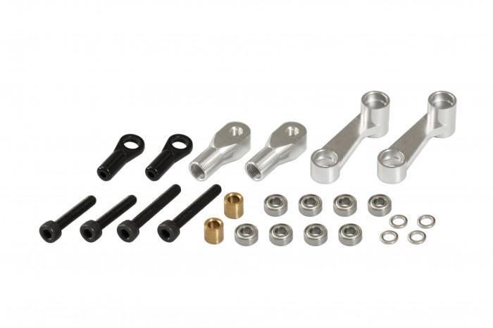 051254-CNC剪型臂(陽極亮銀)(適用 R5)