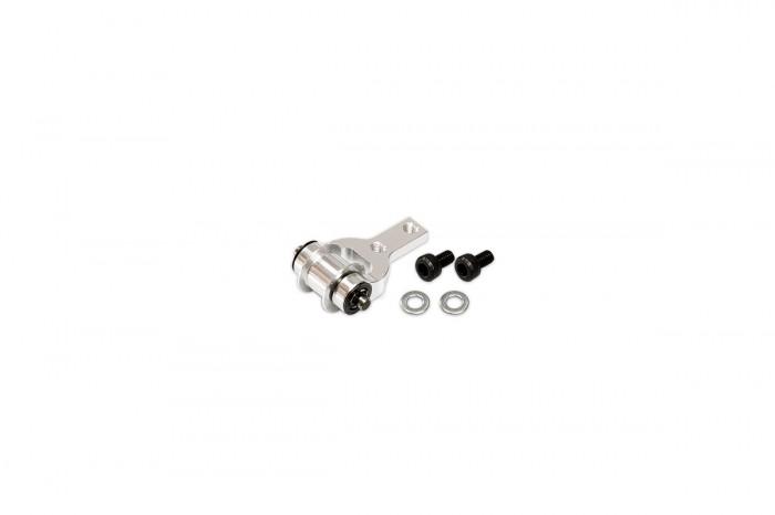053262-CNC 導輪固定座(陽極亮銀)(適用 R5)