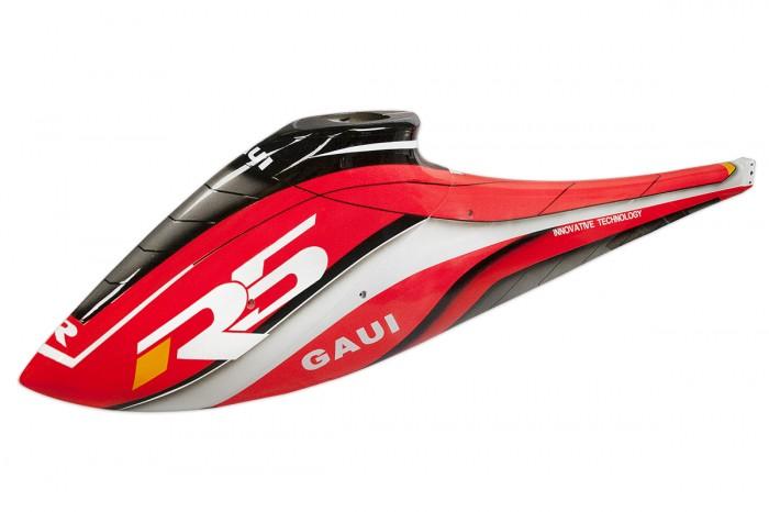 057031-玻纖彩繪噴漆艙罩組(前後)(A1型 紅色)(for R5)