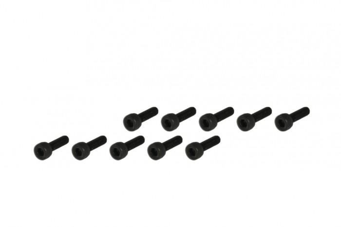 208872-內六角螺絲包-黑色(M3x10)x10個