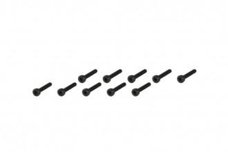 208878-內六角螺絲包-黑色(M2x12)x10個