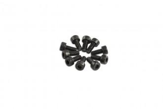0R7206-內六角螺絲包-黑色(M2.6x6)x10個