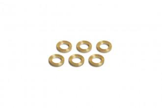 0W5802-Copper washer((5x8x1.25)x6pcs