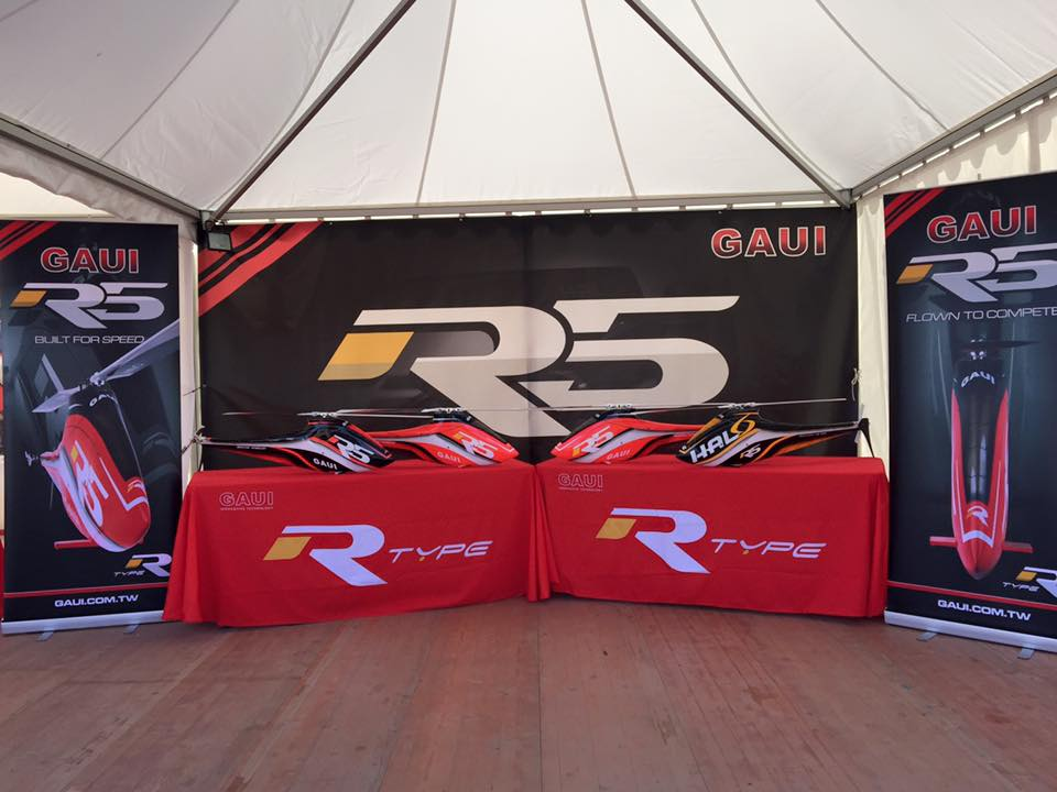 GAUI正式揭幕R5在3D Cup France 2015