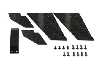 074206-NEW CNC 碳纖腳架組(for X7)